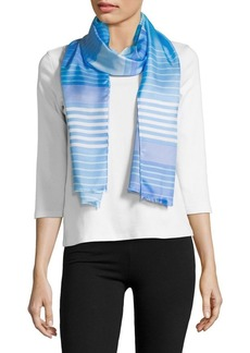Lauren Ralph Lauren Striped Silk Scarf
