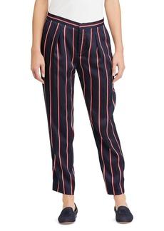 Lauren Ralph Lauren Striped Skinny Twill Pants