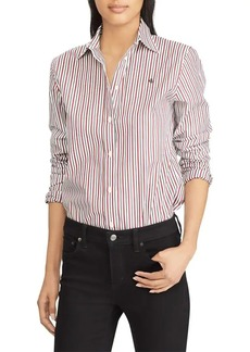 Lauren Ralph Lauren Striped Stretch Shirt