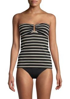 Lauren Ralph Lauren Striped Tankini Top
