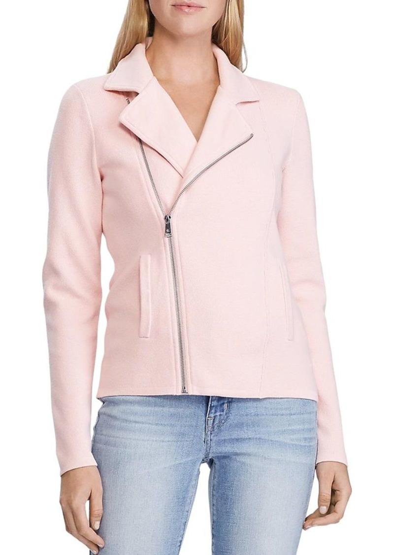 Lauren Ralph Lauren Sweater-Knit Moto Jacket