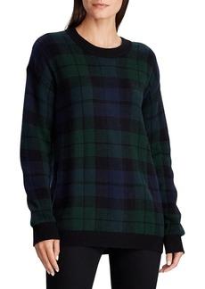 Lauren Ralph Lauren Tartan Wool-Blend Sweater