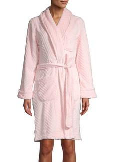 Lauren Ralph Lauren Textured Chevron Robe