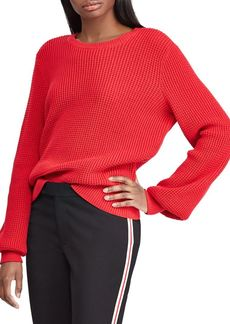 Lauren Ralph Lauren Textured Cotton Sweater