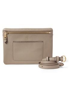 Lauren Ralph Lauren Textured Faux Leather Belt Bag
