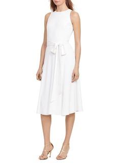 Lauren Ralph Lauren Tie-Waist Dress