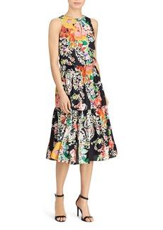 Lauren Ralph Lauren Tiered Floral-Print Dress - 100% Exclusive