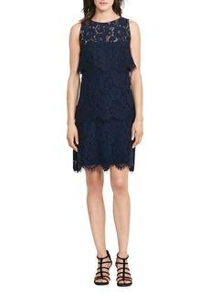 Lauren Ralph Lauren Tiered Lace Dress
