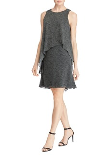 Lauren Ralph Lauren Tiered Overlay Dress