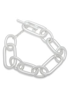 Lauren Ralph Lauren Toggle Closure Link Bracelet