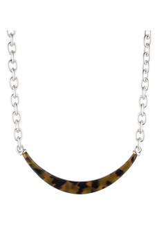 """Lauren Ralph Lauren Tortoise Collar Necklace, 16"""""""