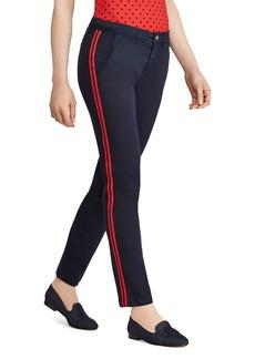 Lauren Ralph Lauren Track-Stripe Ankle Pants