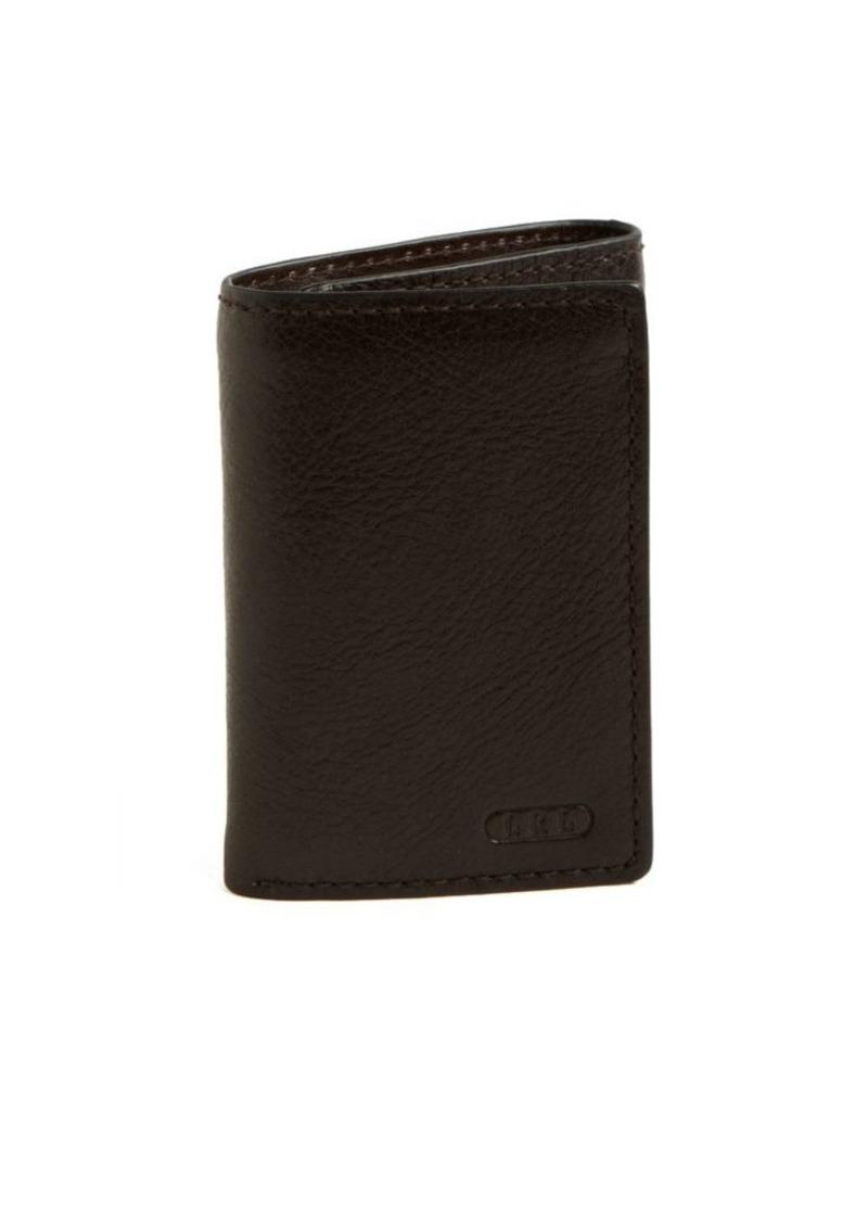Lauren Ralph Lauren Tri-Fold Leather Wallet