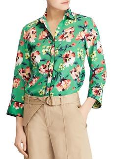 Lauren Ralph Lauren Tropical Floral Print Shirt