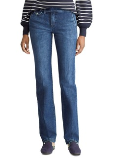 Lauren Ralph Lauren Trouser Straight Jeans in Blue Star