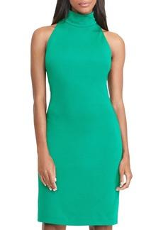 Lauren Ralph Lauren Turtleneck Halter Dress