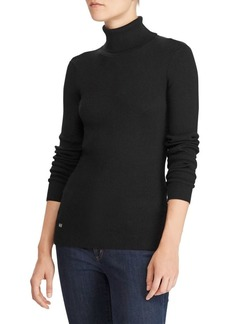 Lauren Ralph Lauren Turtleneck Slim-Fit Sweater