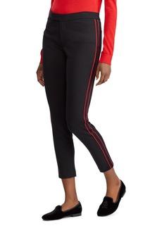 Lauren Ralph Lauren Tuxedo Stripe Skinny Crop Pants