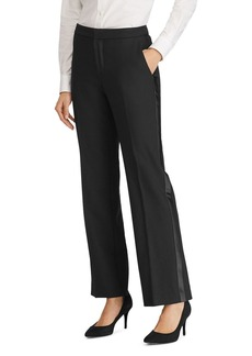 Lauren Ralph Lauren Tuxedo Stripe Straight Pants