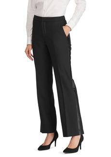 Lauren Ralph Lauren Tuxedo-Stripe Twill Pant