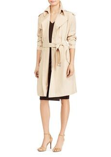 Lauren Ralph Lauren Twill Trench Coat