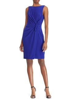 Lauren Ralph Lauren Twist-Front Jersey Dress