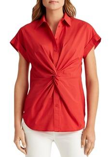 Lauren Ralph Lauren Twisted Shirt