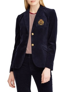 Lauren Ralph Lauren Two-Button Corduroy Jacket