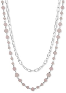 Lauren Ralph Lauren Two In One Strand Necklace, 26""
