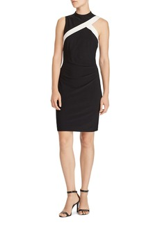 Lauren Ralph Lauren Two-Tone Jersey Dress - 100% Exclusive