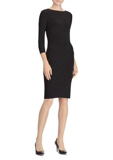 Lauren Ralph Lauren Two-Tone Sash Dress
