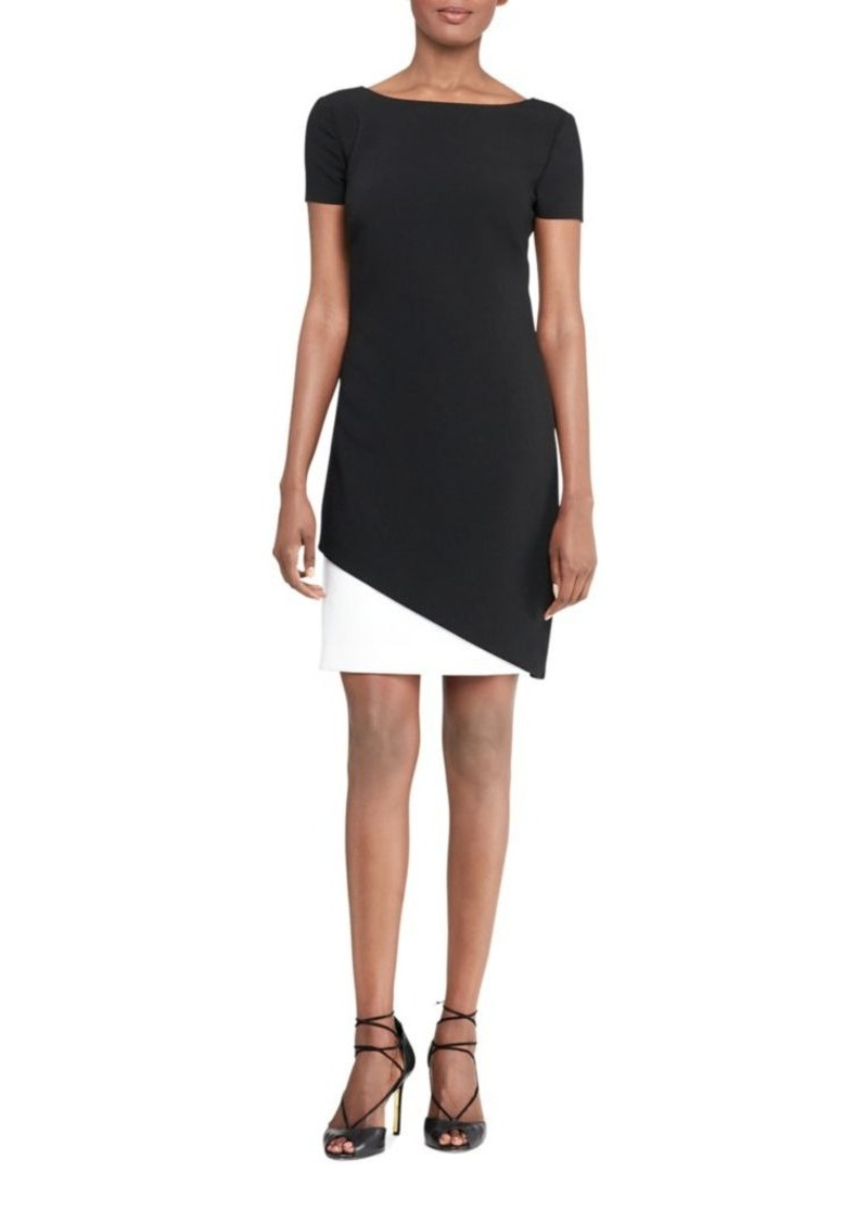 e815801ddc8d7 On Sale today! Ralph Lauren Lauren Ralph Lauren Two-Tone Sheath Dress