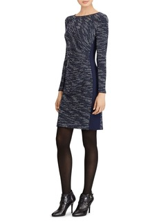 Lauren Ralph Lauren Two-Tone Sheath Dress
