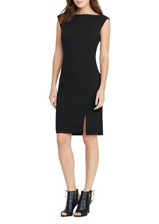 Lauren Ralph Lauren V-Back Sheath Dress