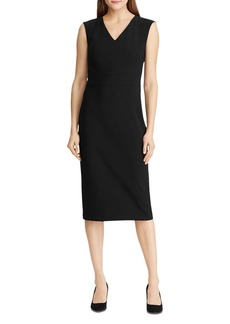 Lauren Ralph Lauren V-Neck Sheath Dress