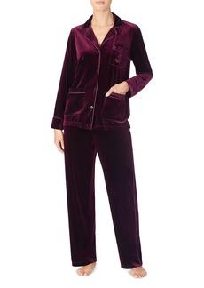 Lauren Ralph Lauren Velvet Pajama Set