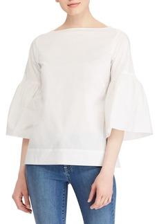 Lauren Ralph Lauren Vented Bell-Sleeve Top