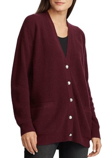 Lauren Ralph Lauren Washable Cashmere Cardigan - 100% Exclusive