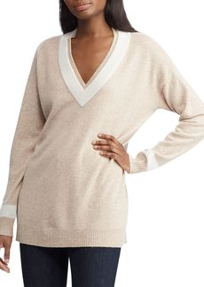 Lauren Ralph Lauren Washable Cashmere Cricket Sweater - 100% Exclusive