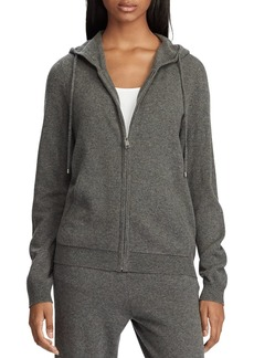 Lauren Ralph Lauren Washable Cashmere Hooded Sweatshirt - 100% Exclusive