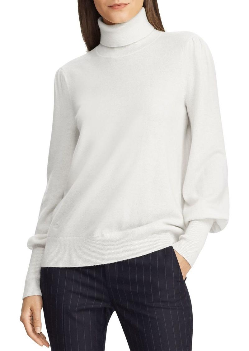Lauren Ralph Lauren Washable Cashmere Turtleneck Sweater - 100% Exclusive