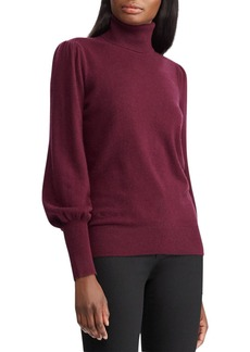 Lauren Ralph Lauren Washable Cashmere Turtleneck Sweater - 100% Exclusive
