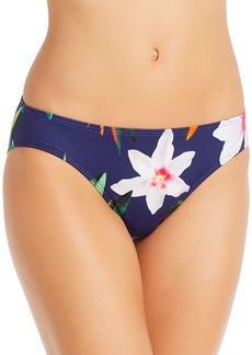 Lauren Ralph Lauren Watercolor Floral Hipster Tankini Bottom