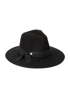 Lauren Ralph Lauren Wide-Brim Wool Hat