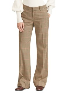 Lauren Ralph Lauren Wide-Leg Checked Pants - 100% Exclusive