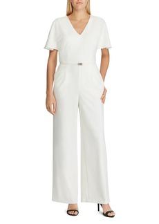 0cdd5806784a SALE! Ralph Lauren Lauren Ralph Lauren Two-Tone Jersey Jumpsuit