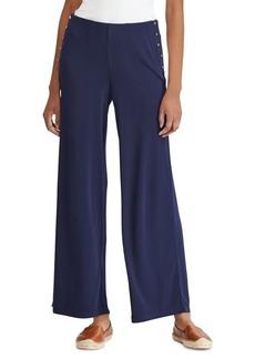 Lauren Ralph Lauren Wide-Leg Jersey Pants