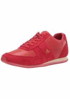 Lauren Ralph Lauren Women's CATE Shoe RL2000 RED  B US