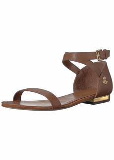 Lauren Ralph Lauren Women's Davison Flat Sandal  11 B US