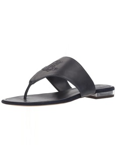 Lauren Ralph Lauren Women's Deandra-SN-CSL Flat Sandal  6 B US